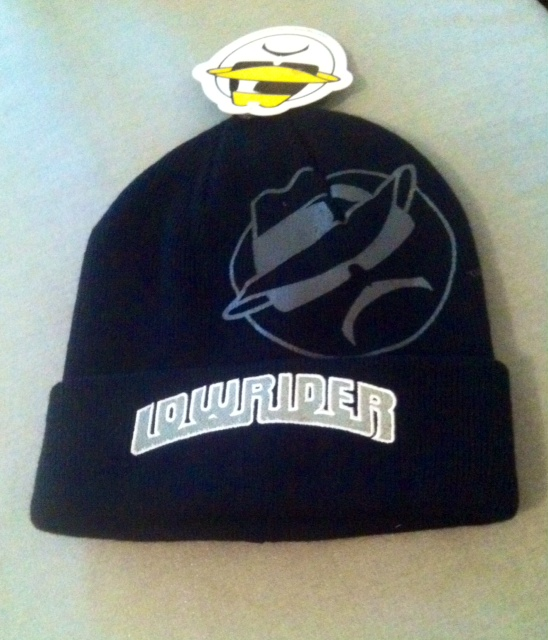 Two Tone Lowrider Beanie